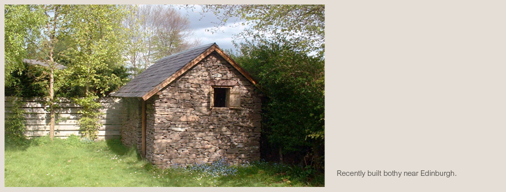 Stone Bothies Amp Outbuildings Drystone Designs
