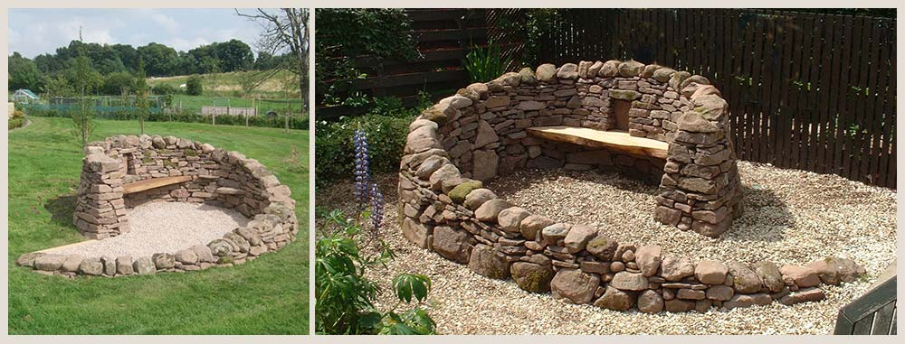 Medium Ross Drystone feature