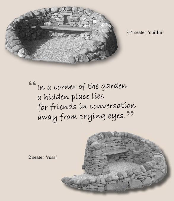 In a corner of the garden